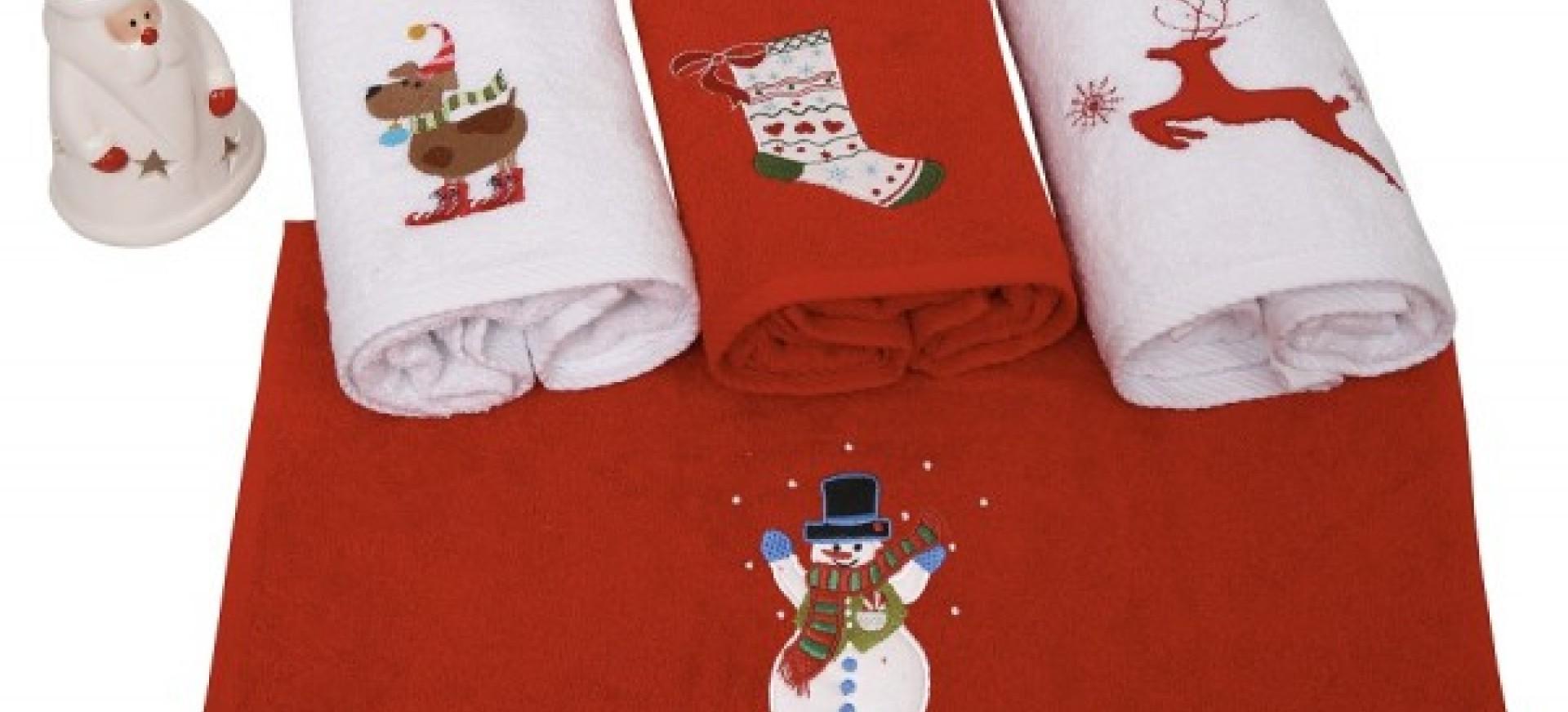 Πετσέτες Χριστουγεννιάτικες