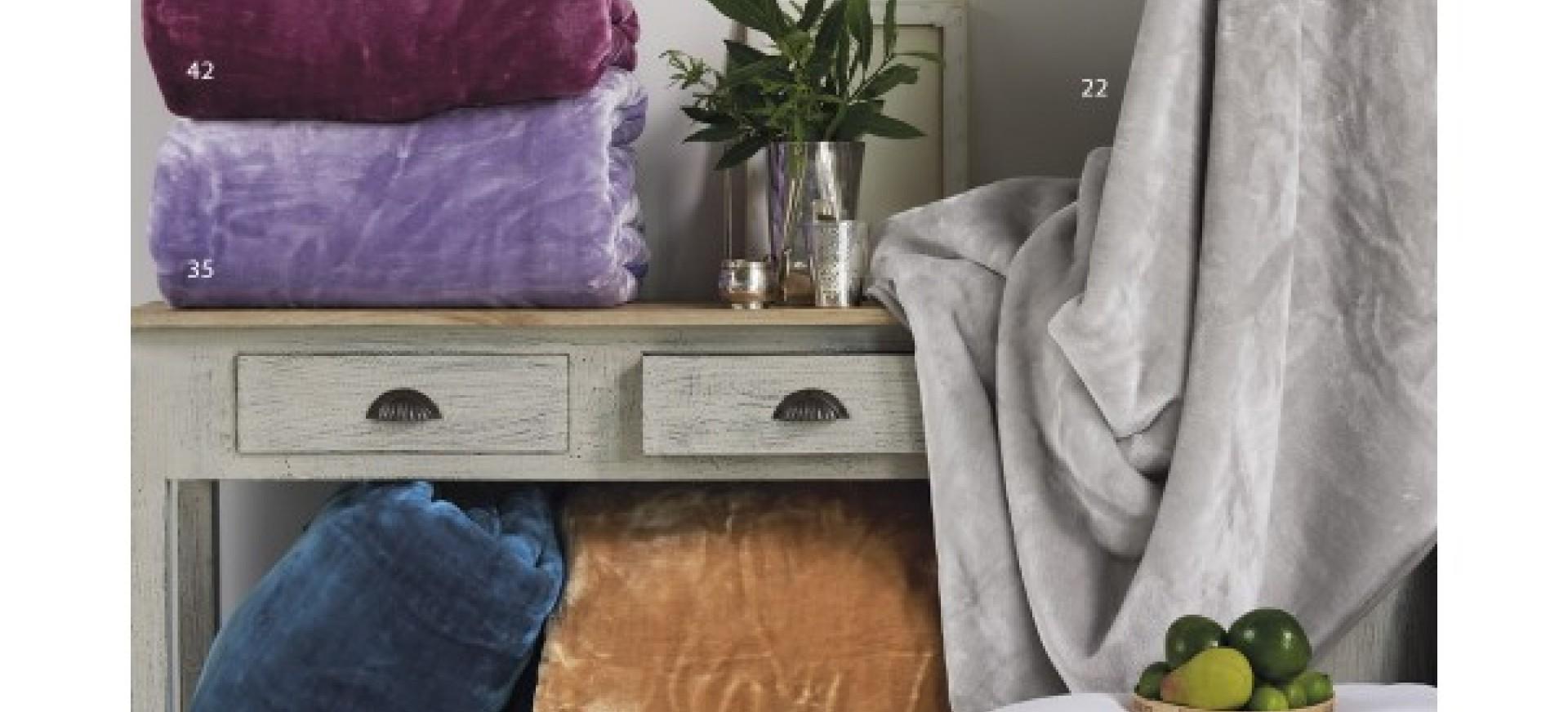 Κουβέρτες: Πλεκτές - Βελουτέ - Πικέ