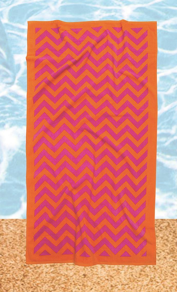 Πετσέτα θαλάσσης (75X150) 475, Das Home (Πορτοκαλί, 75Χ150) εποχιακα ειδη   πετσέτες θαλάσσης   πετσέτες θαλάσσης ενηλίκων