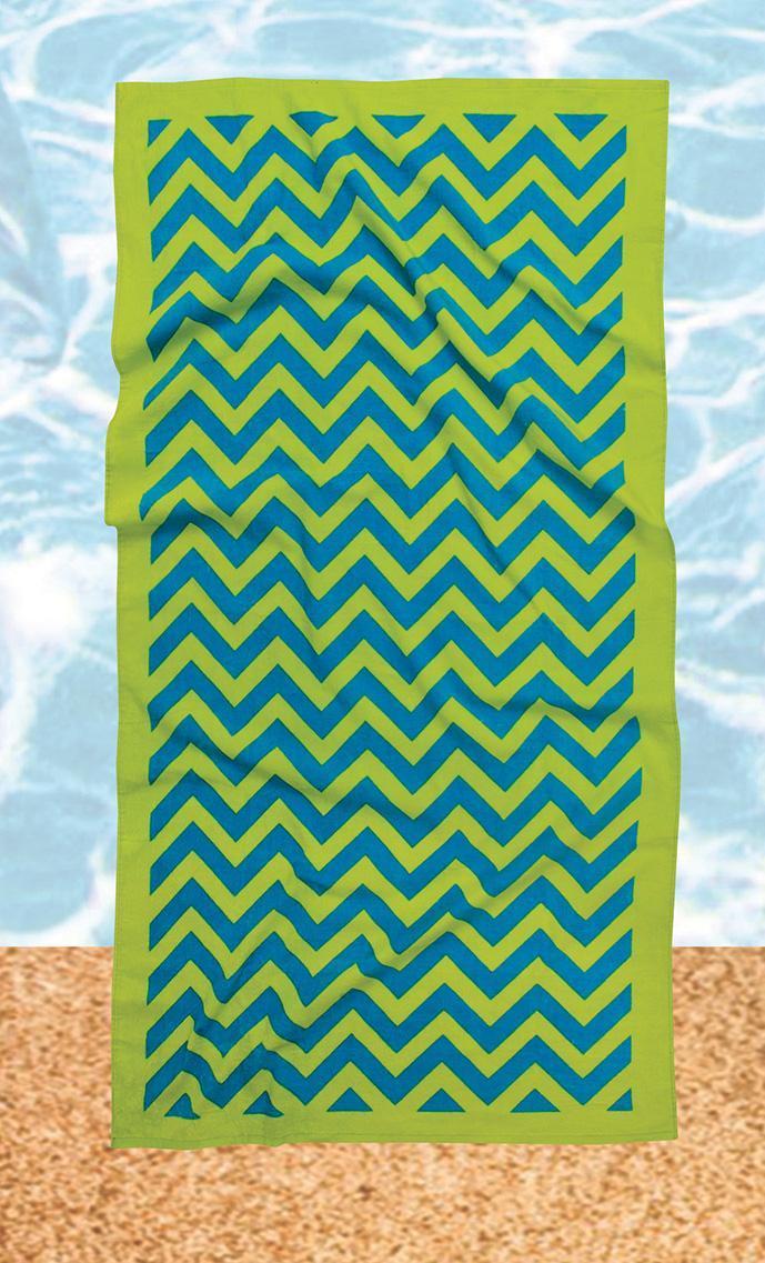 Πετσέτα θαλάσσης Beach Towels Prints 476, Das Home (Λαχανί, 90X180) εποχιακα ειδη   πετσέτες θαλάσσης   πετσέτες θαλάσσης ενηλίκων