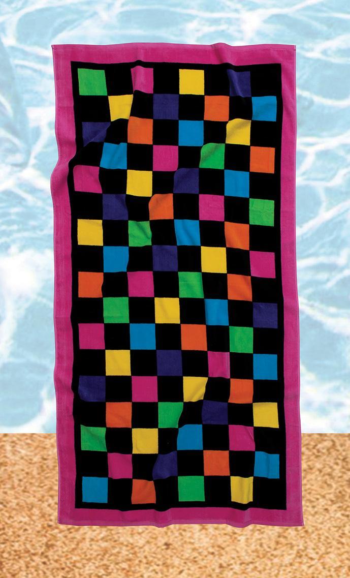Πετσέτα θαλάσσης Beach Towels Prints 479, Das Home (Μαύρο, 75Χ150) εποχιακα ειδη   πετσέτες θαλάσσης   πετσέτες θαλάσσης ενηλίκων