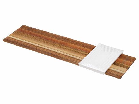 Πλατώ STAK BAM30398, SALT & PEPPER (Καφέ, 1 ΤΕΜ) κουζινα   οικιακός εξοπλισμός   είδη σερβιρίσματος