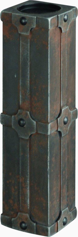 Κηροπήγιο ξύλινο HUC0145/M, HOME DESIGN (Μαύρο, 1 ΤΕΜ) διακόσμηση   κηροπήγια