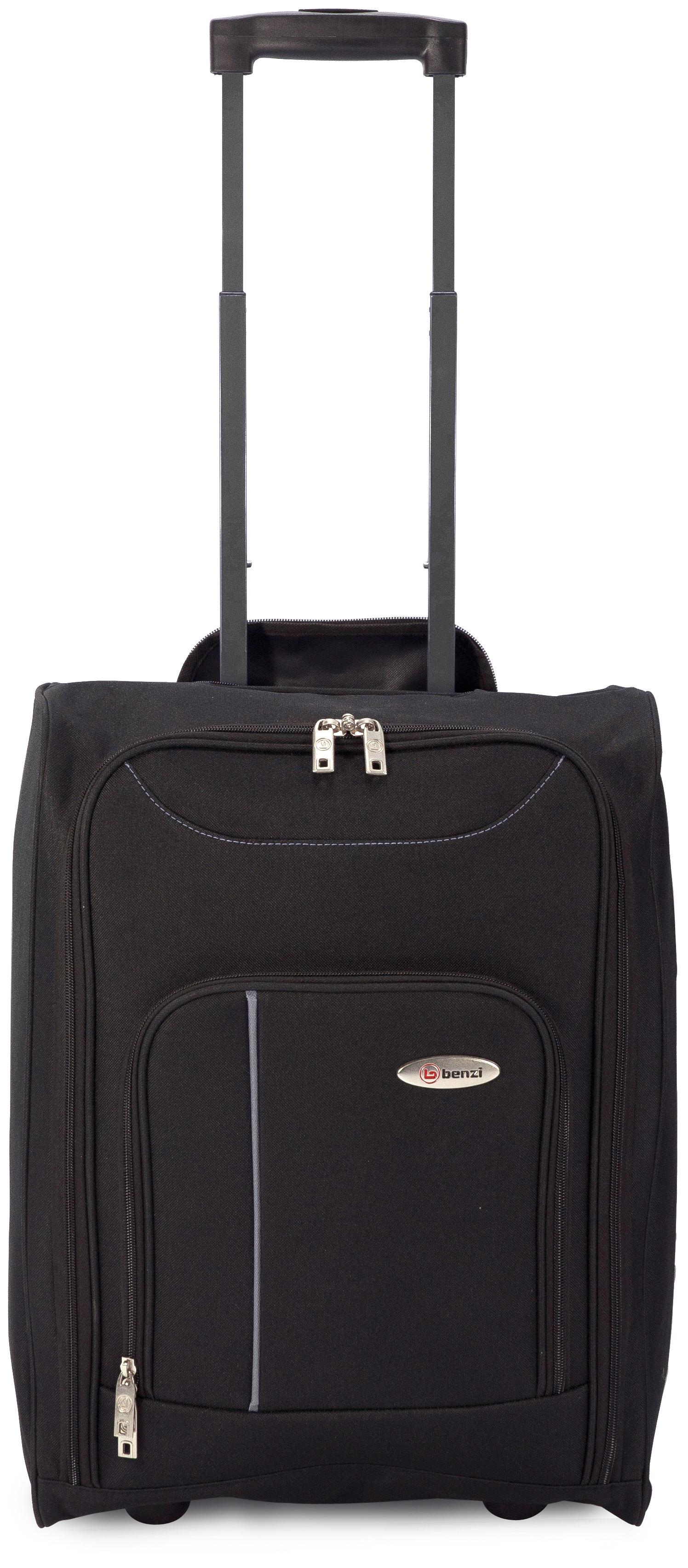 Βαλίτσα καμπίνας 4891 BLACK/GREY, BENZI εποχιακα ειδη   είδη ταξιδιού   βαλίτσες