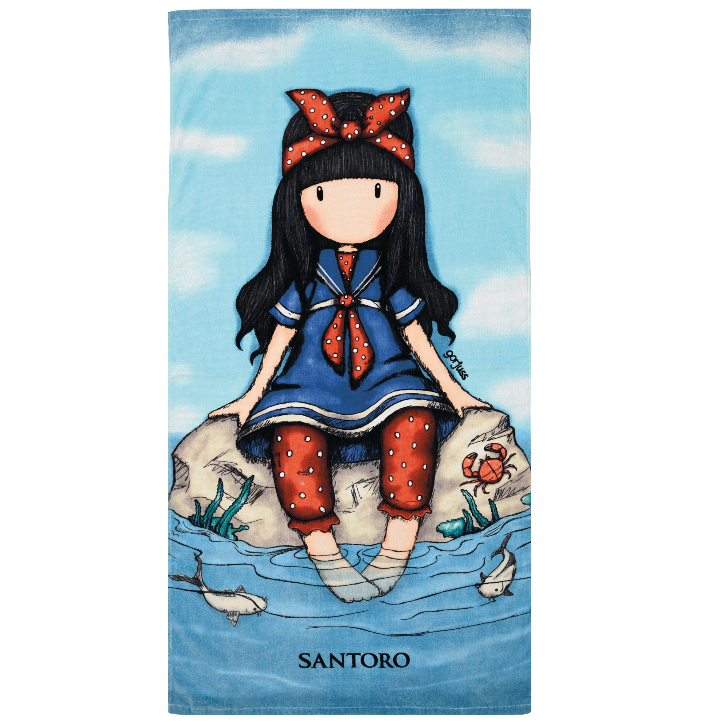 Πετσέτα θαλάσσης παιδική 5807 GORJUSS, DAS HOME εποχιακα ειδη   πετσέτες θαλάσσης   πετσέτες θαλάσσης παιδικές