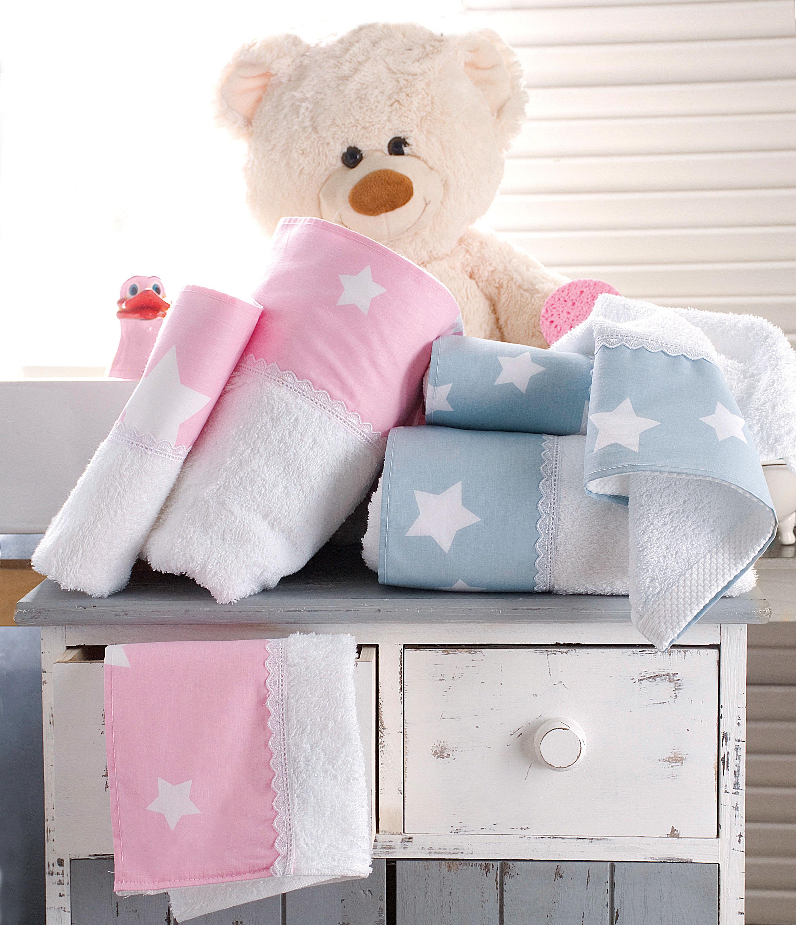 Σετ παιδικές πετσέτες 2 τεμ. STARDUST BLUE, RYTHMOS HOME παιδικα   πετσέτες παιδικές