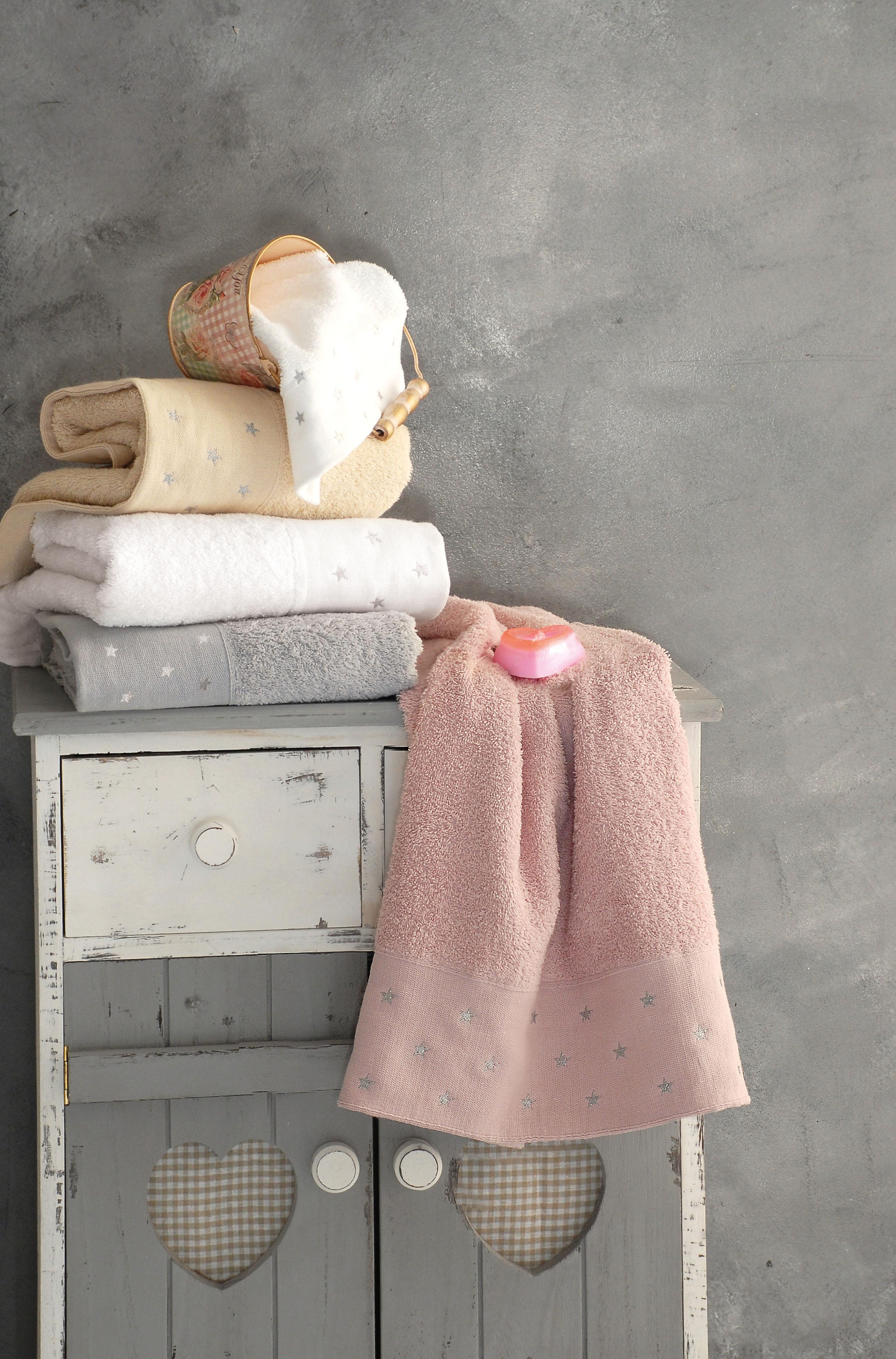 Σετ παιδικές πετσέτες 2 τεμ. STAR BEIGE, RYTHMOS HOME παιδικα   πετσέτες παιδικές