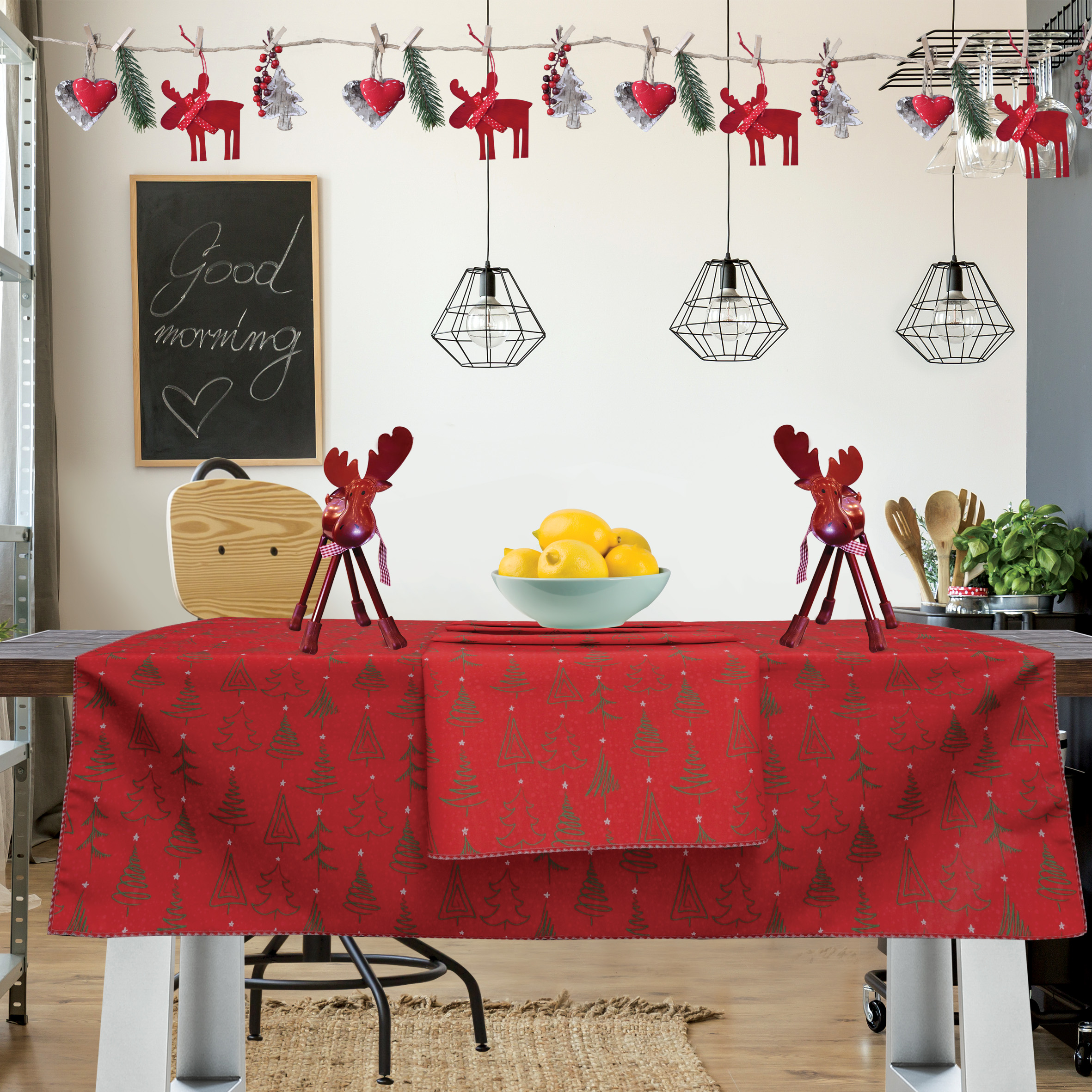 Runner CHRISTMAS LINE 550, DAS HOME εποχιακα ειδη   χριστουγεννιάτικη συλλογή   ράνερ   σουπλά χριστουγεννιάτικα