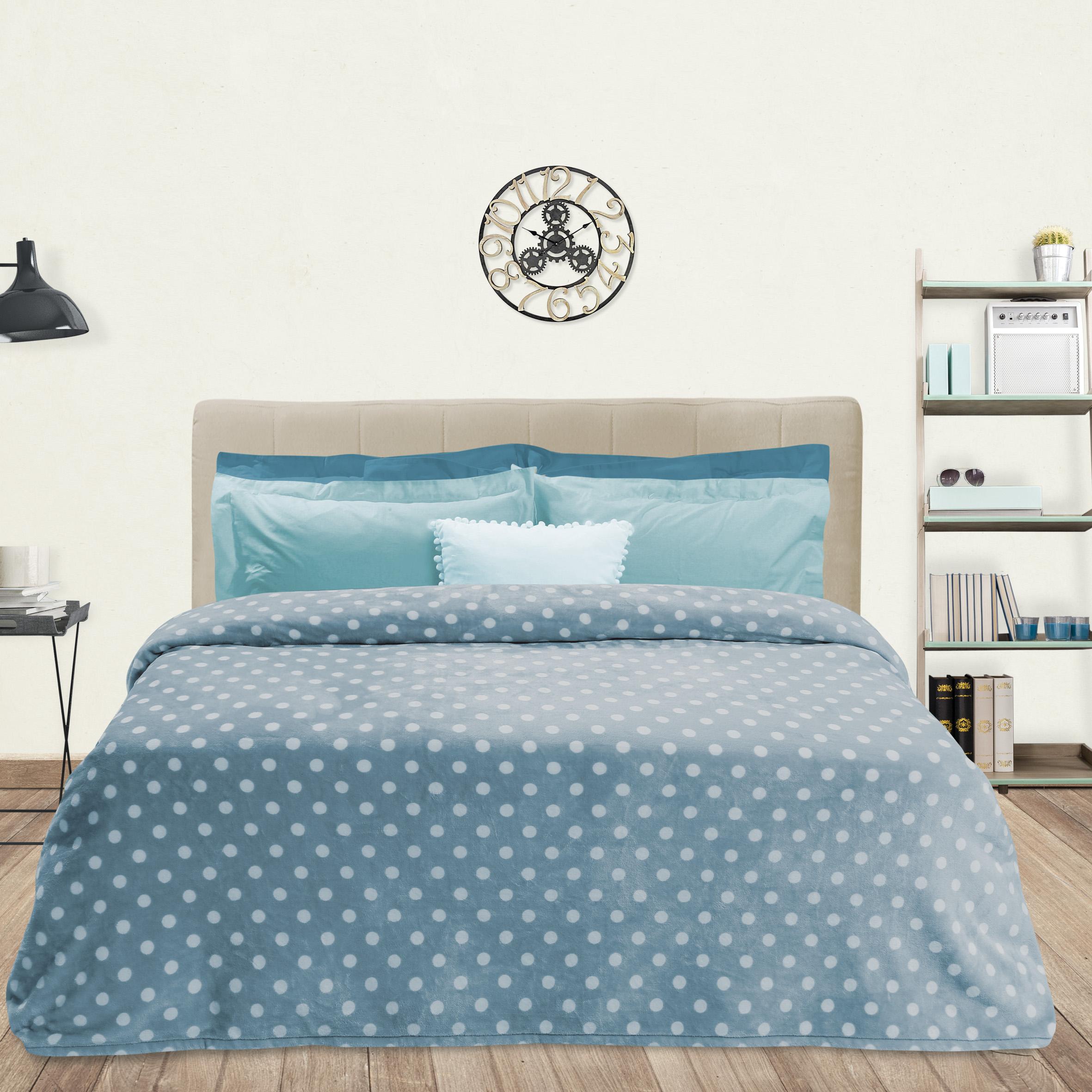 Κουβέρτα fleece Υ/Δ BLANKET LINE 401, DAS HOME last items   υπνοδωμάτιο