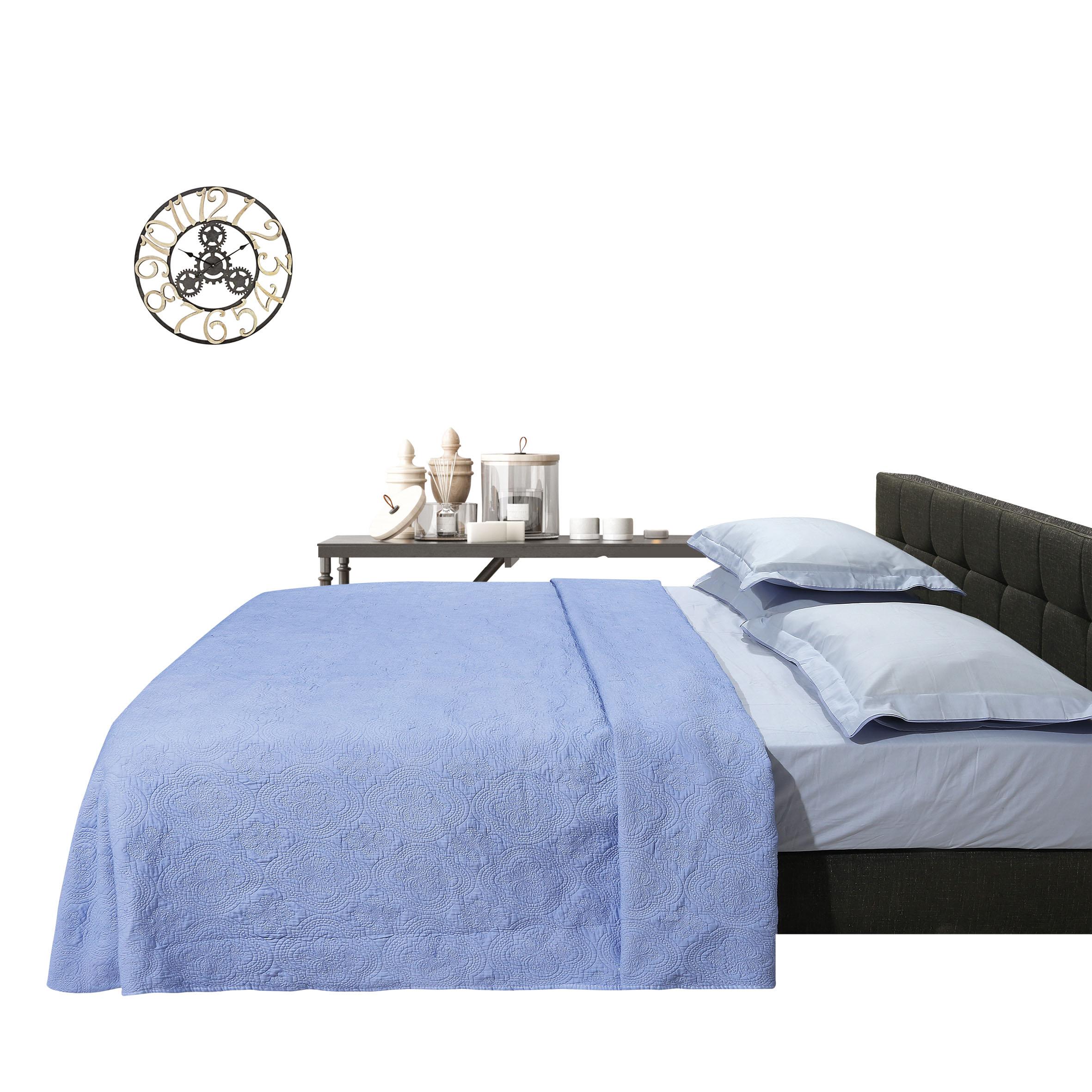 Κουβερλί Υ/Δ HAPPY LINE STONEWASHED 9309, DAS HOME (Σιέλ, 220Χ240) last items   υπνοδωμάτιο