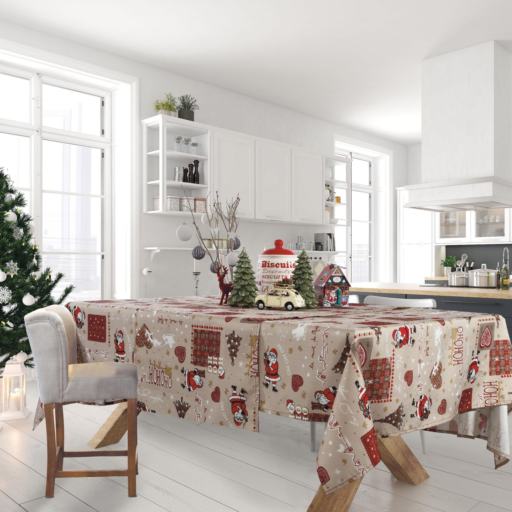 Runner CHRISTMAS KITCHEN LINE 0570 (50X140), DAS HOME εποχιακα ειδη   χριστουγεννιάτικη συλλογή   ράνερ   σουπλά χριστουγεννιάτικα
