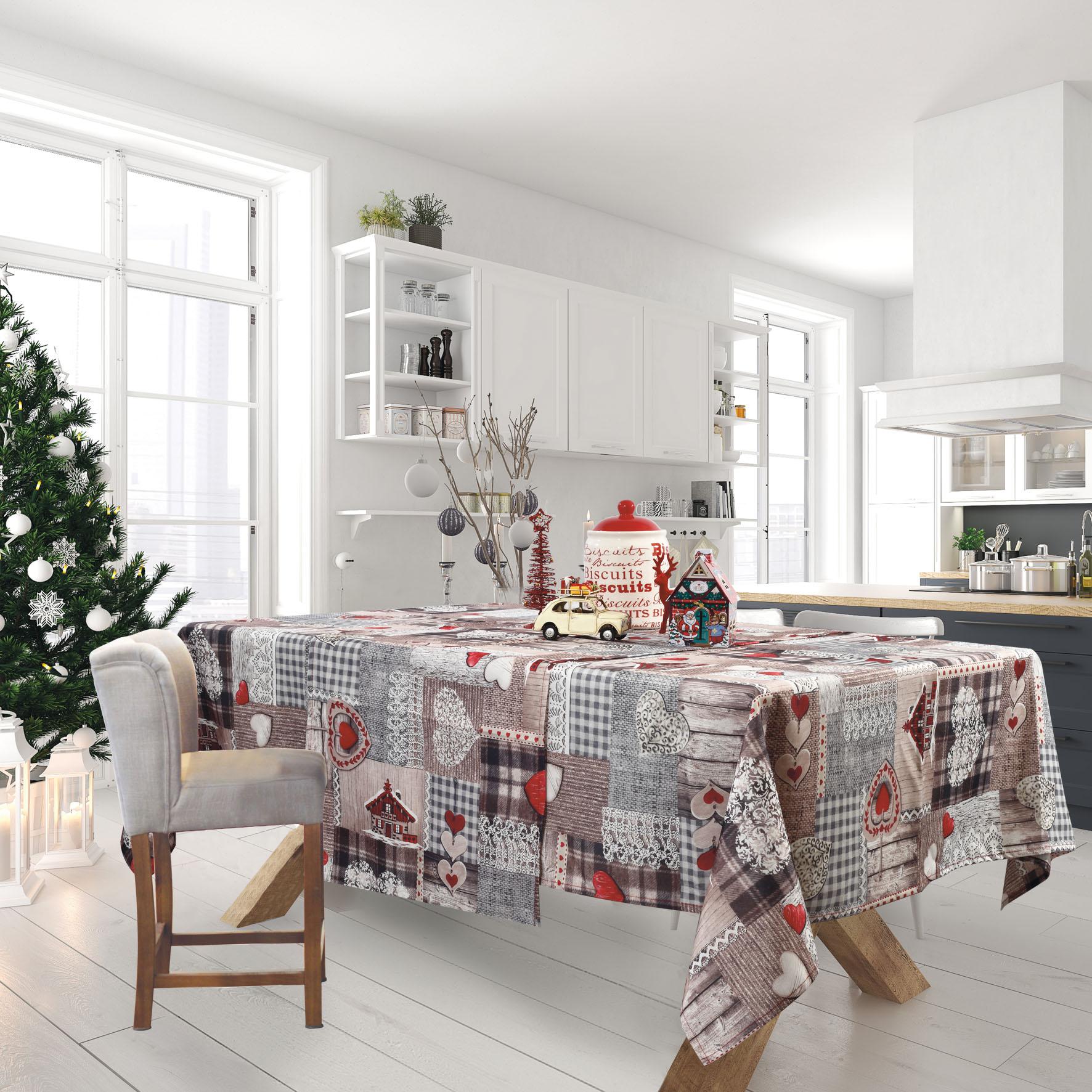 Runner CHRISTMAS KITCHEN LINE 0571 (50X140), DAS HOME εποχιακα ειδη   χριστουγεννιάτικη συλλογή   ράνερ   σουπλά χριστουγεννιάτικα