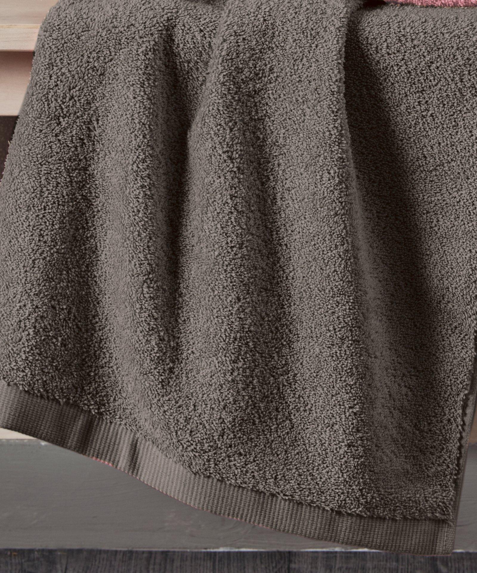 Πετσέτα χεριών BRAND GREY (40Χ60), KENTIA μπανιο   πετσέτες mπάνιου