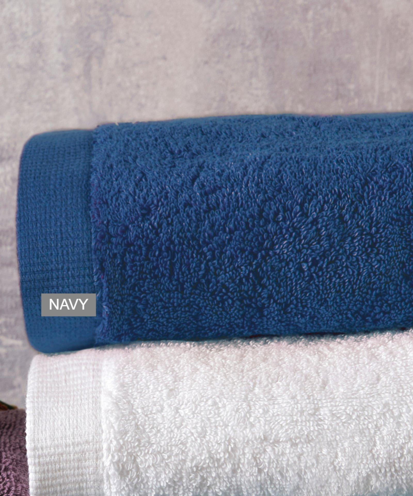 Πετσέτα χεριών BRAND NAVY (40Χ60), KENTIA μπανιο   πετσέτες mπάνιου