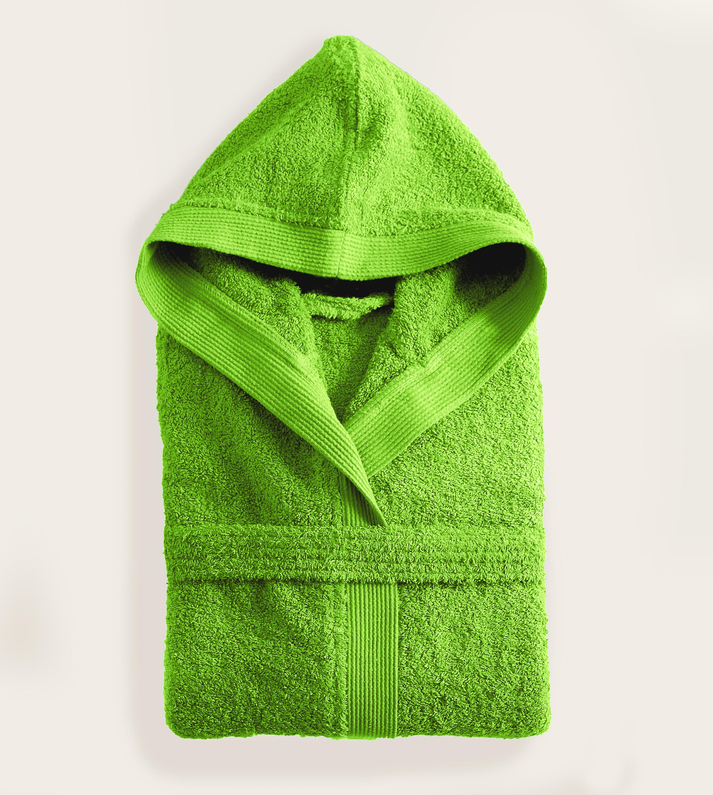 Μπουρνούζι με κουκούλα (XXL) AMADEUS GREEN, RYTHMOS HOME